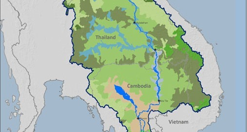 Ecozones in Lower Mekong Basin