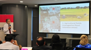 Jeremy Carew-Reid presents ICEM's work on climate resilience in Mekong Towns.