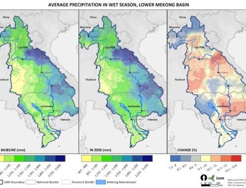 Mekong ARCC Climate Change Maps