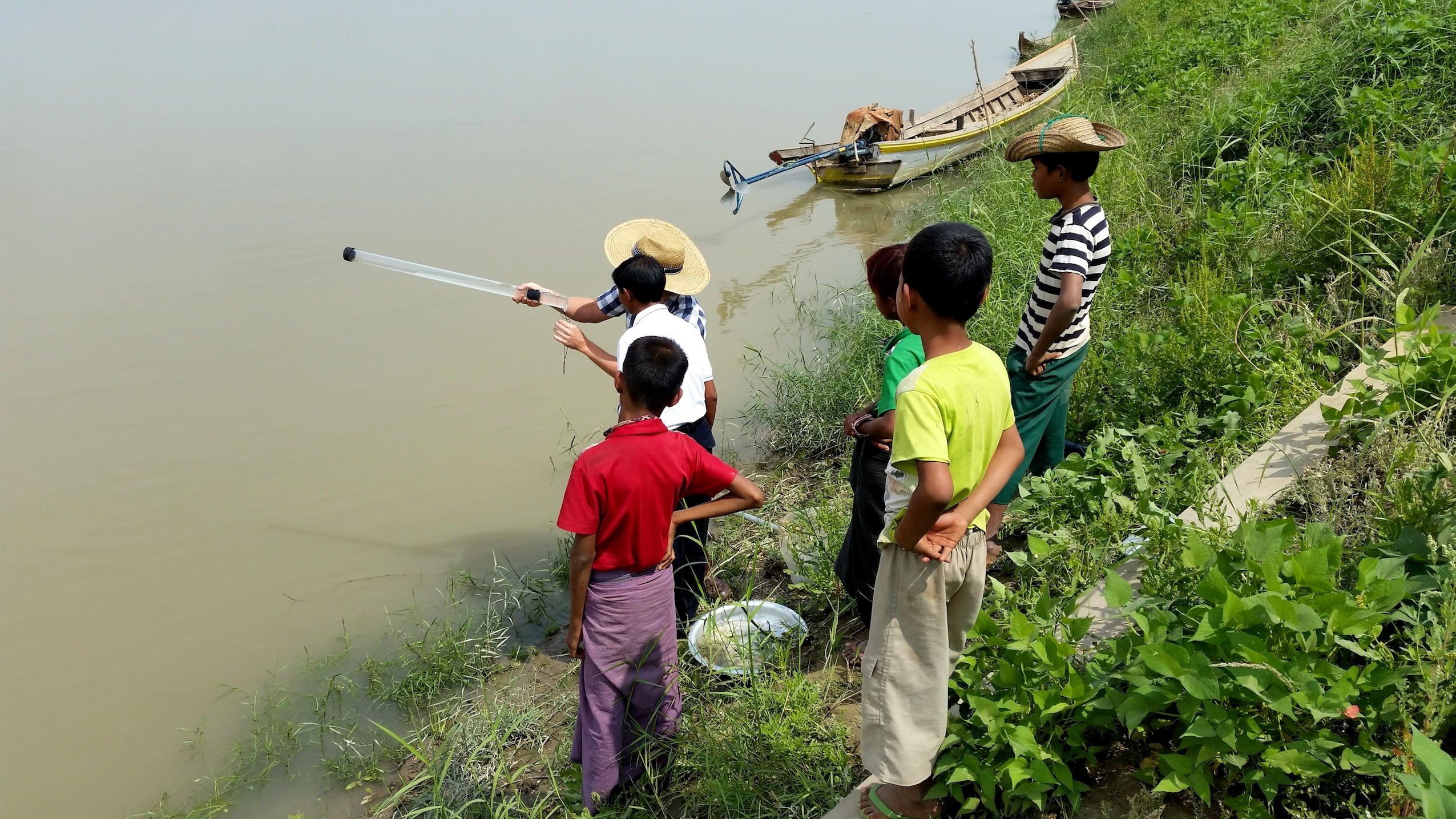 Water quality monitoring in Myanmar