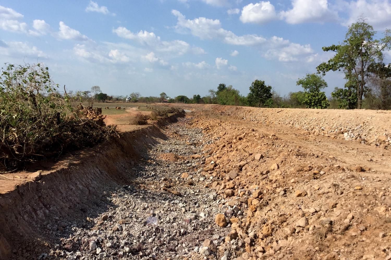 Irrigation dam, Koh Neak District, Mondulkiri