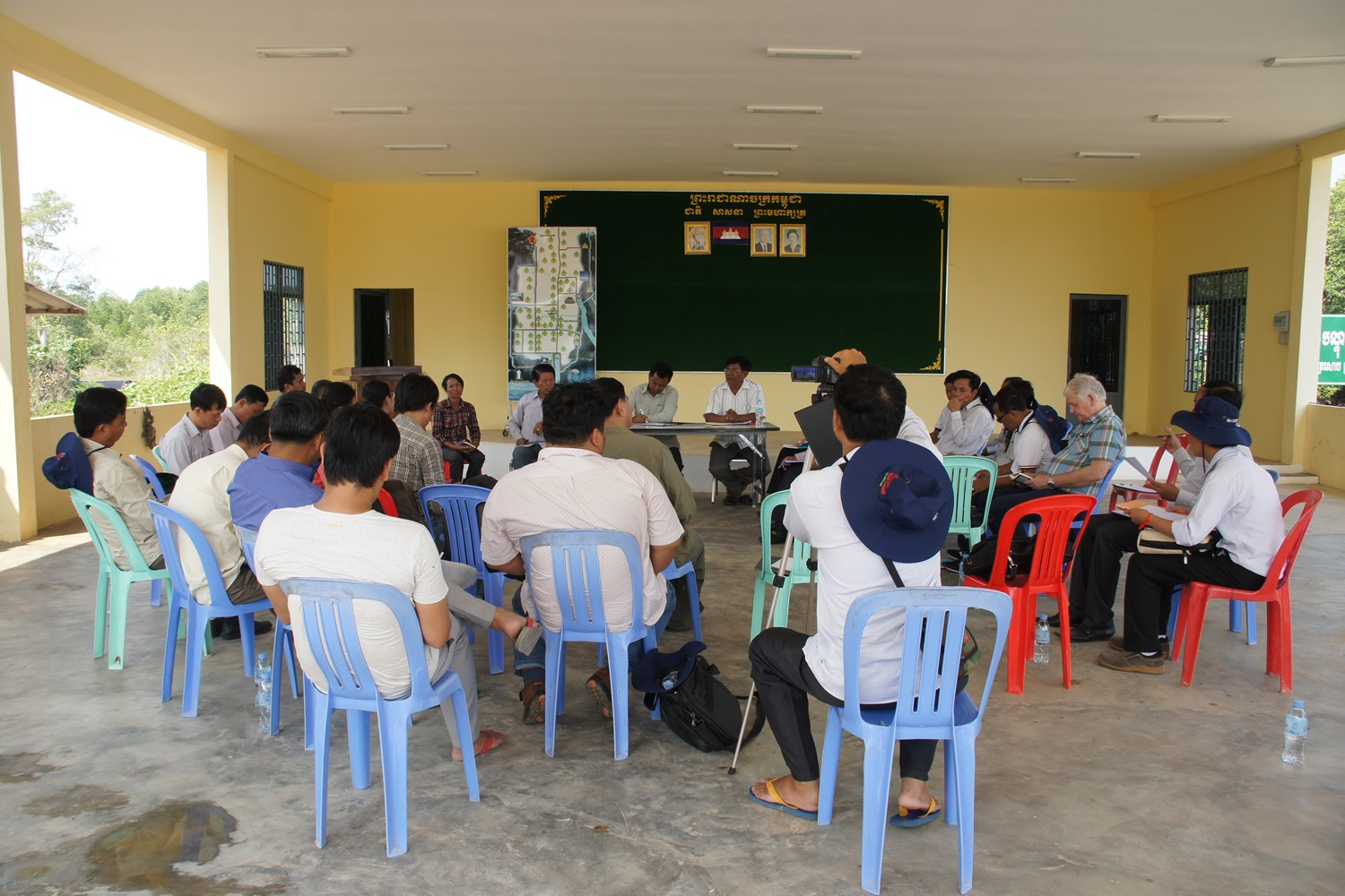 Meeting with Peam Krasop community, Koh Kong