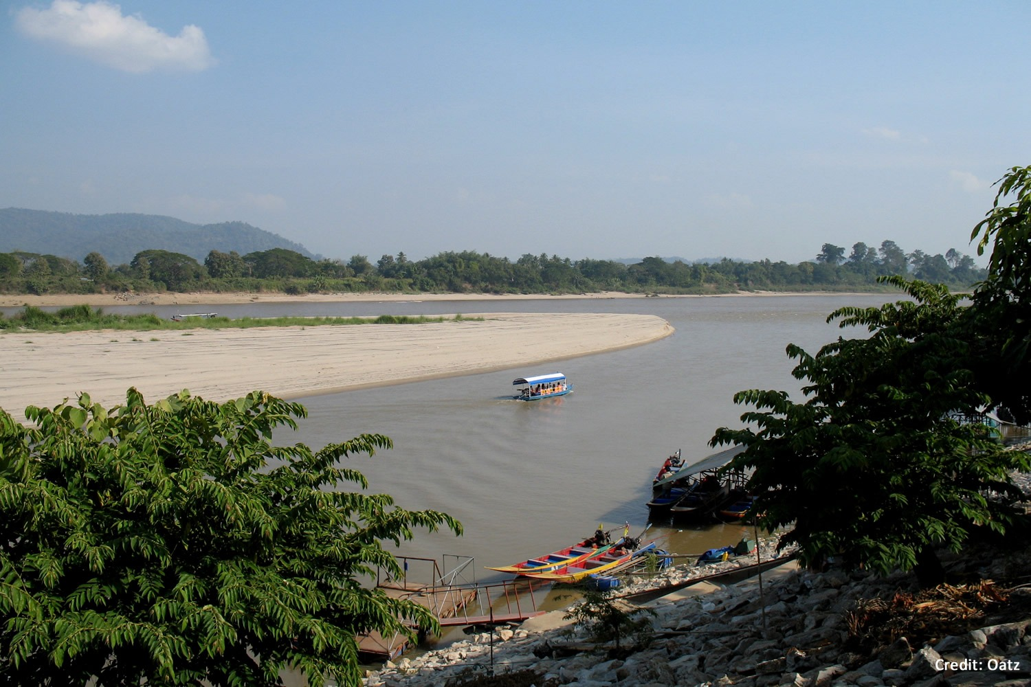 Golden Triangle at Amphoe, Chiang Saen
