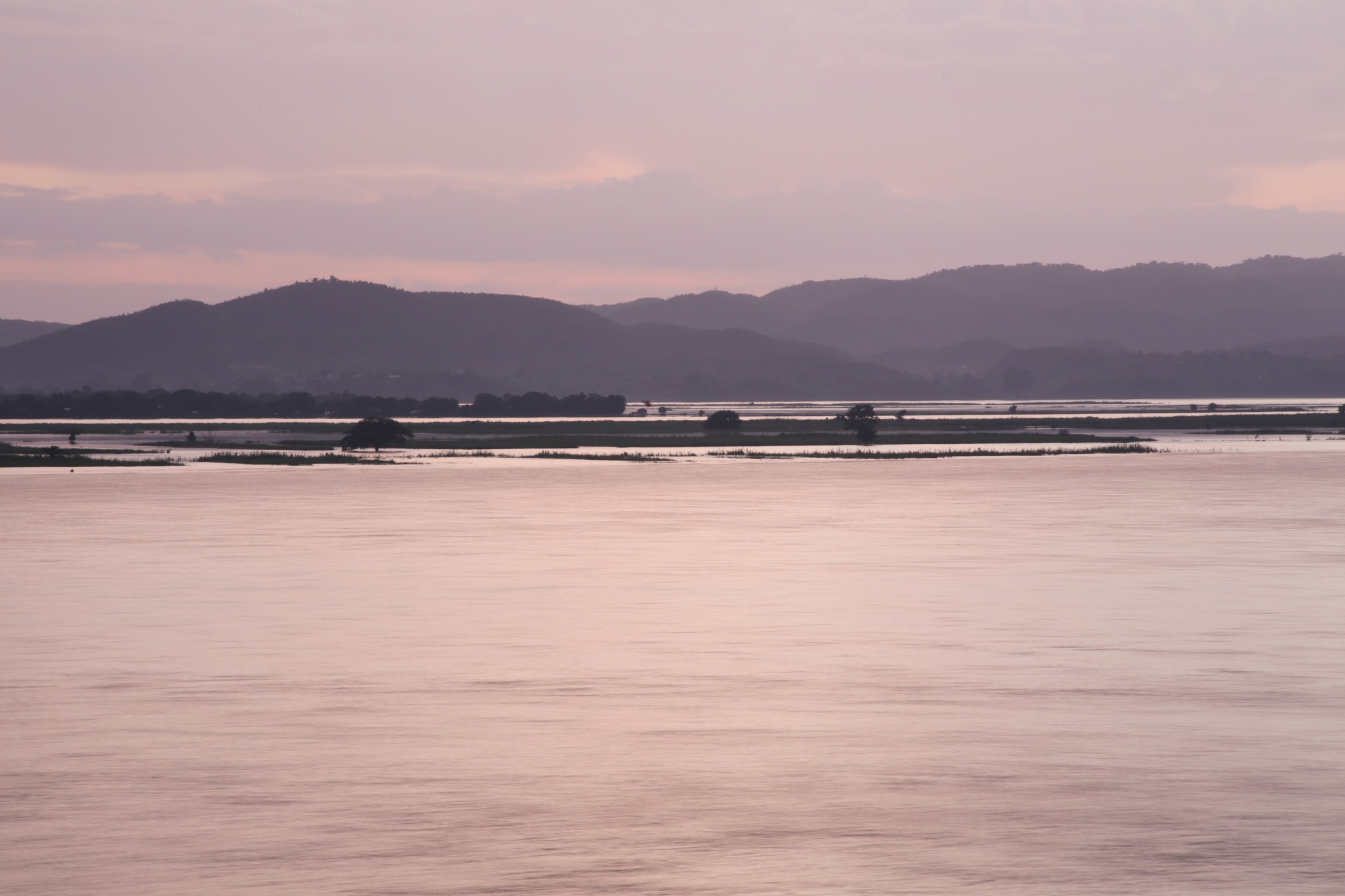 The Ayeyarwady River.