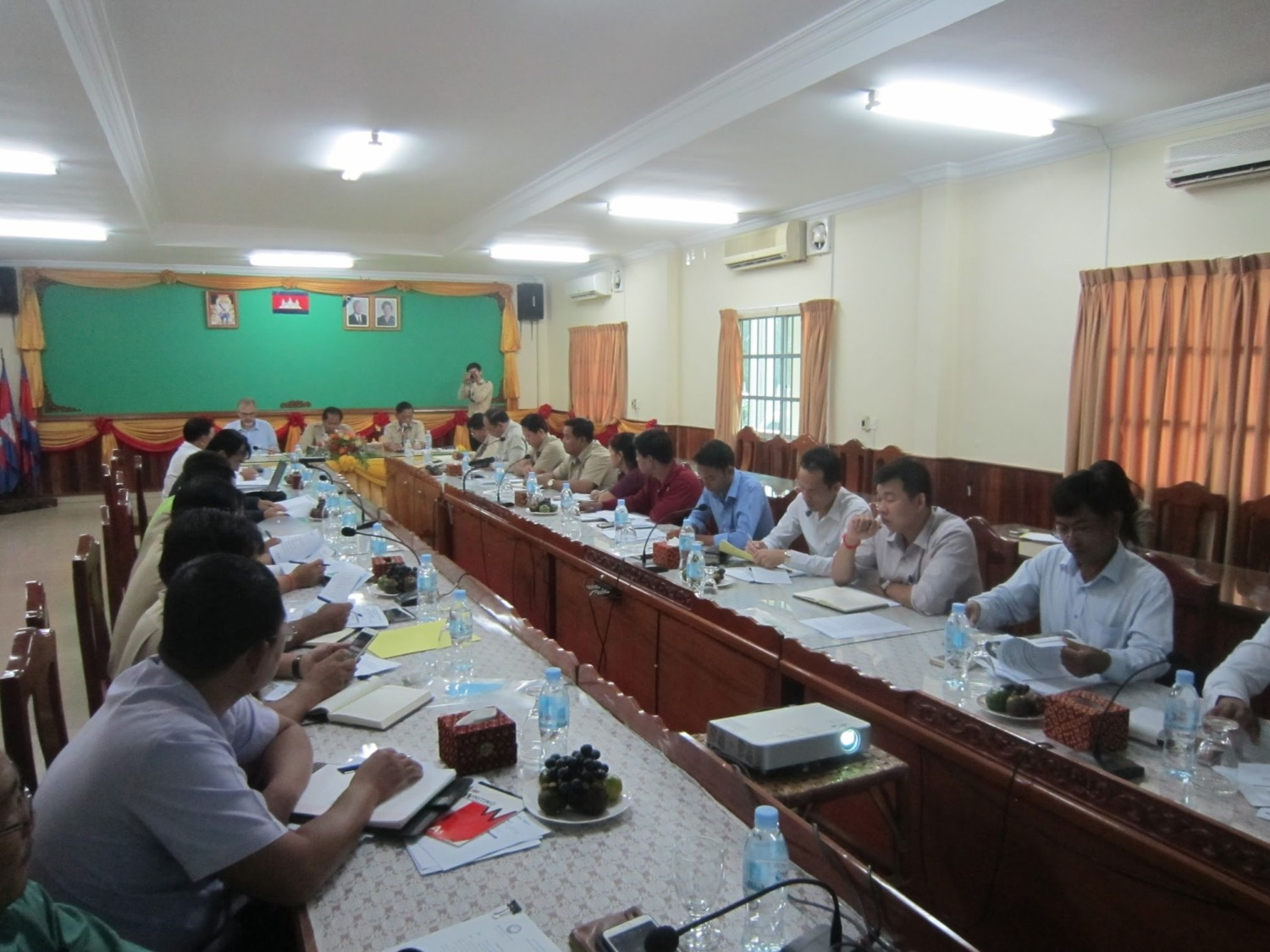 Roundtable meeting in Sihanoukville, Cambodia