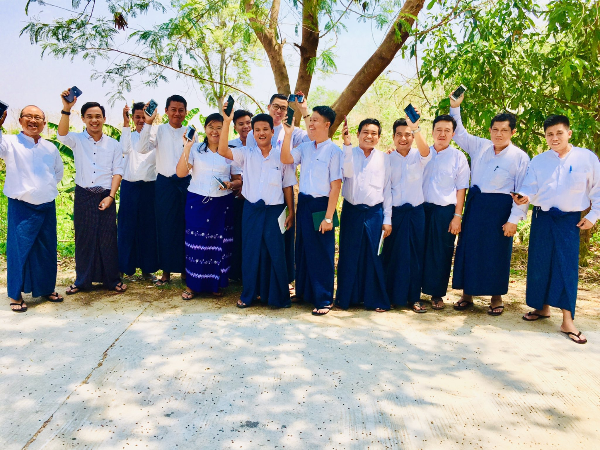 ICEM - Myanmar geological mapping in the Central Dry Zone: training