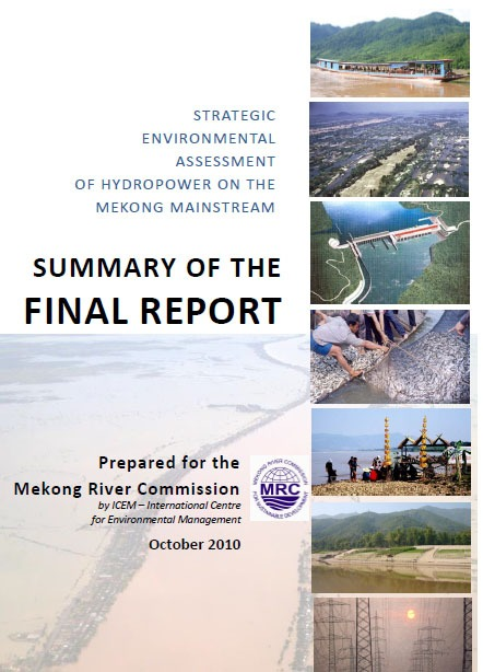 SEA of Hydropower on the Mekong Mainstream - Summary Report