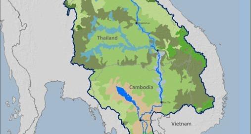 Ecozones in Lower Mekong Basin