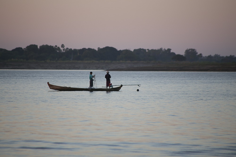 The Ayeyarwady River, one of two included in the Myanmar Healthy Rivers Initiative.