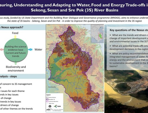 POSTER: Measuring, Understanding and Adapting to Nexus Trade-offs in the 3S River Basins