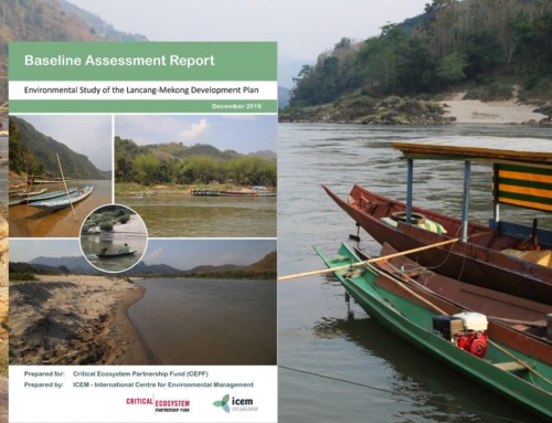 Environmental Study of the Lancang-Mekong Development Plan (LMDP) – Report series and project briefs