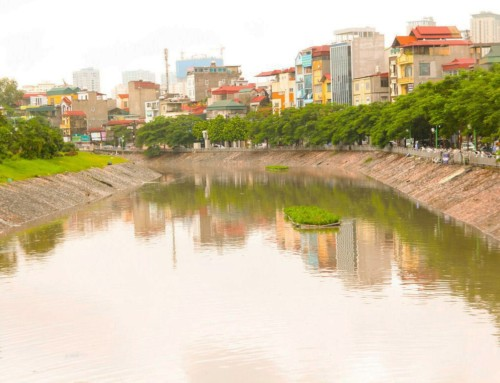 Study on Water Pollution Control and Drainage & Wastewater Improvement in Hanoi City