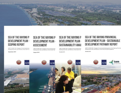 Strategic Environmental Assessment (SEA) of Rayong Province Development Master Plan – Report series